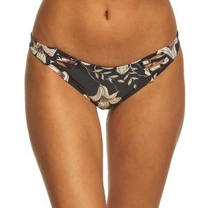 NWT Albany Floral Strappy Bikini Bottoms